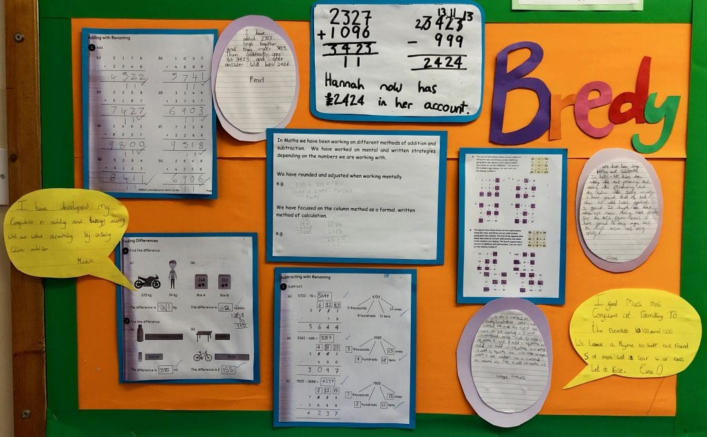 Bredy Maths Addition and Subtraction Jan 19